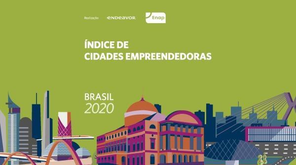 índice de cidades empreendedoras no Brasil em 2020
