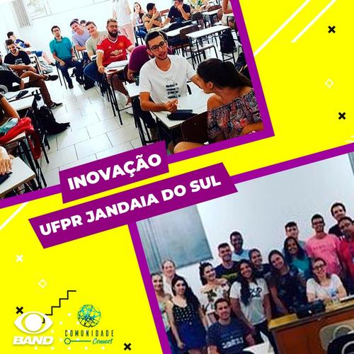 Inovação chegando no campus da UFPR Jandaia do sul