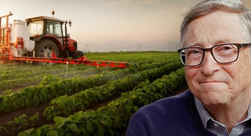 Bill Gates com tecnologia agro... Será??